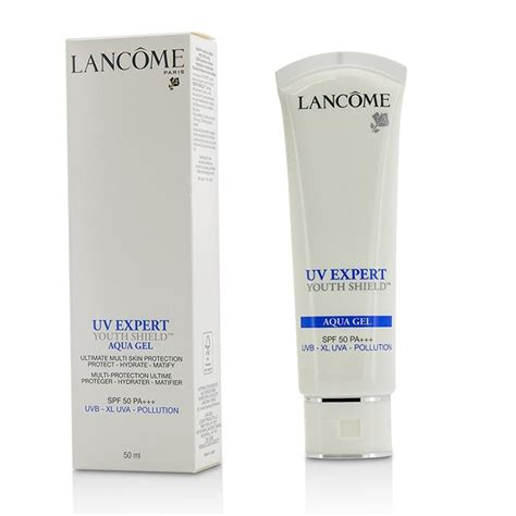 Lancome Uv Expert Spf 50 uv expert youth shield aqua gel spf50 pa matify made