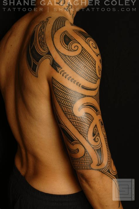 maori tattoo designs arm shane tattoos maori sleeve ta moko