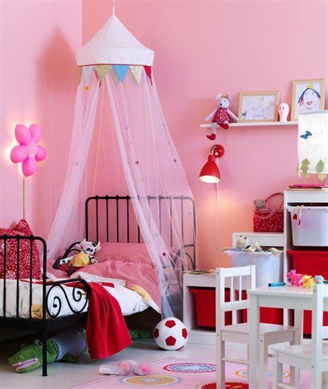 kinderzimmer einrichten vorschläge himmelbett kinderzimmer design