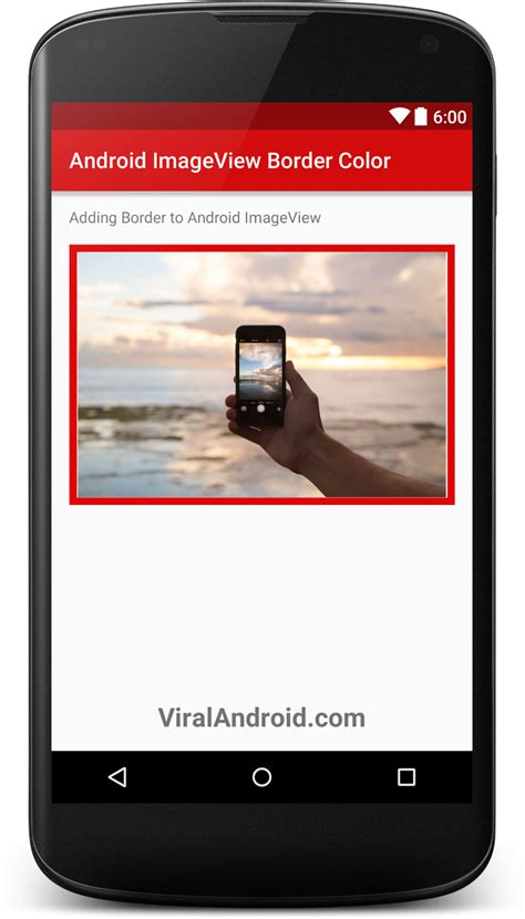 tutorial android imageview how to add border to android imageview viral android