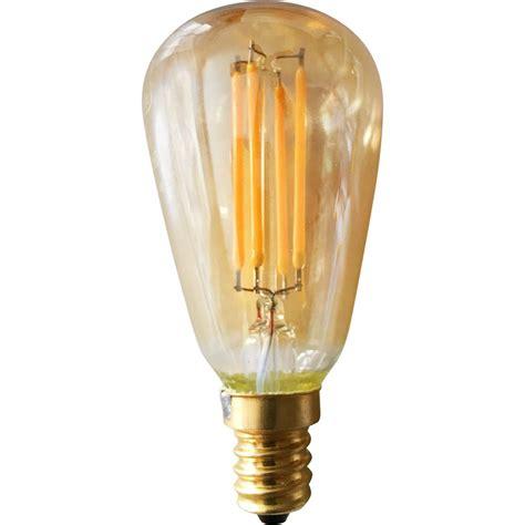 led light bulbs for home meridian 40 watt equivalent warm white st15 vintage led