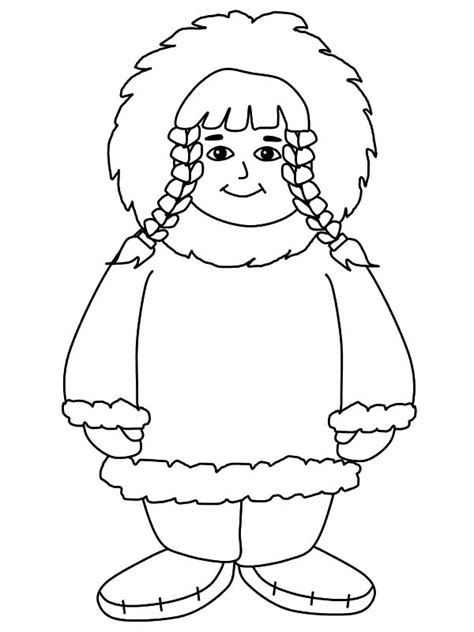 American Eskimo Pages Coloring Pages Eskimo Coloring Pages