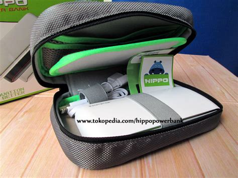 Hippo Gems Powerbank 15000mah Simple Pack Garansi 1 Tahun Tlc0049 jual hippo power bank 15000 mah terra simple pack hippo power bank