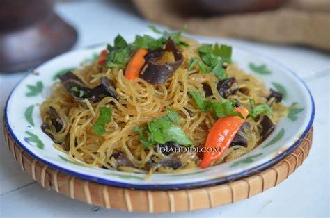 diah didis kitchen semur bihun jagung jamur kuping