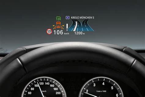 Bmw 3er Head Up Display by Bmw S Full Color Head Up Display Could Replace The