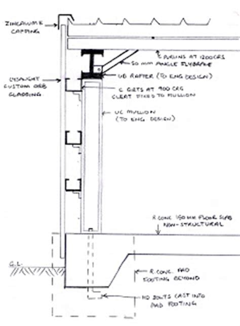 Steel Wall Section by Srt 251 Sem 1 2008 Tutorial 3 End Wall Section Steel