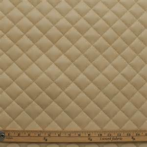 Recycled Leather Upholstery Quilted Leather Diamond Padded Cushion Faux Leather