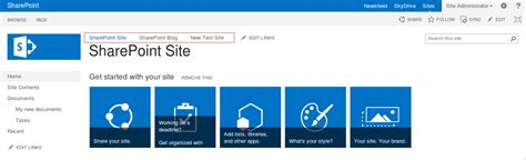 sharepoint 2013 top link bar how to change the order of the items in the top link bar sharepoint 2013