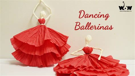 How To Make A Dress Out Of Tissue Paper - tissue paper ballerina
