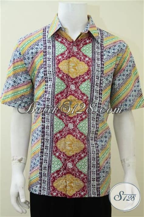 Kemeja Printing Motif Pohon Pria Lengan Pendek Murah distro batik koleksi lengkap sedia kemeja