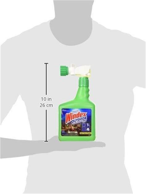 Windex Outdoor Glass Patio Cleaner by Windex Outdoor Glass Patio Cleaner 32oz New Ebay