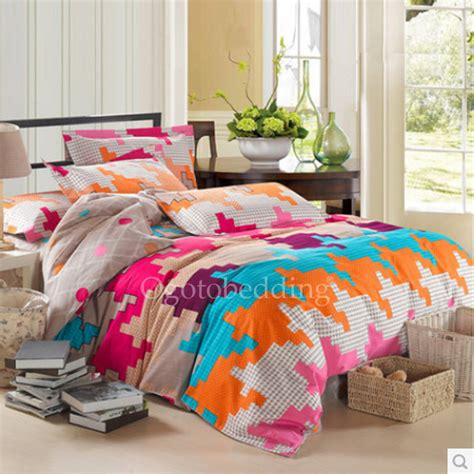 colorful bedding sets colorful chic patterned designer bedding sets king