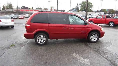 how does cars work 2001 dodge caravan spare parts catalogs 2001 dodge caravan dark garnet red pearl stock 11297 youtube