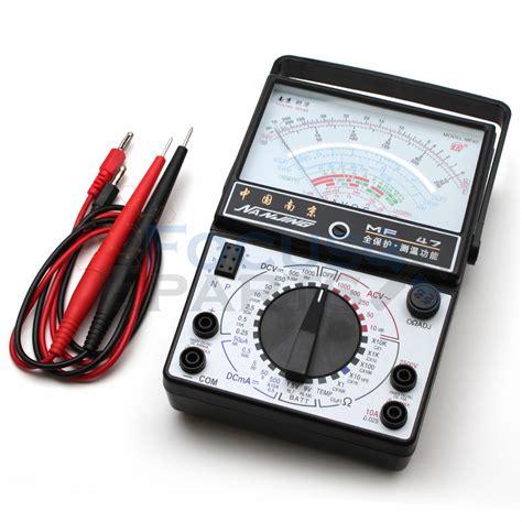 Multi Tester Multitester Analog Der E analog multimeter ohm dc voltmeter ammeter multi tester