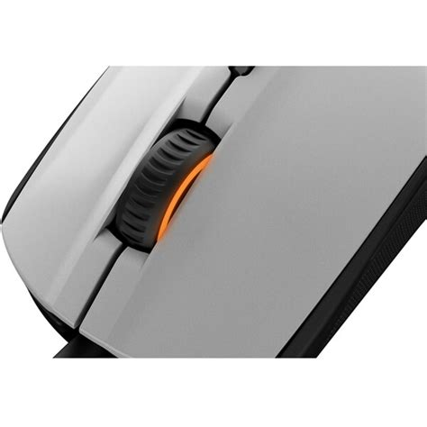 Steelseries Mouse Rival 100 White steelseries rival 100 optical mouse white