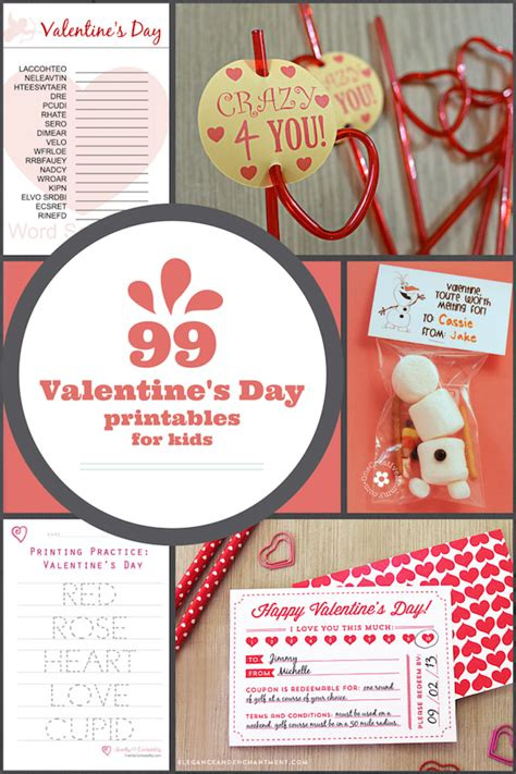 99 cent store valentines day 99 free s day printables for family