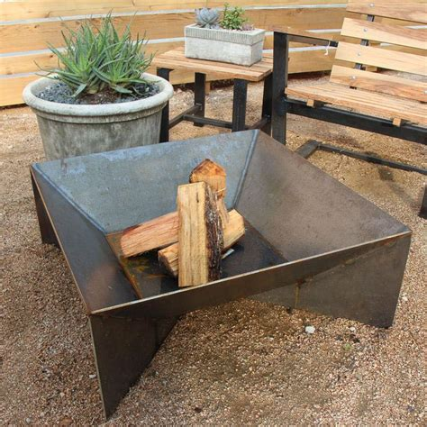 home made firepit metal pit pit design ideas