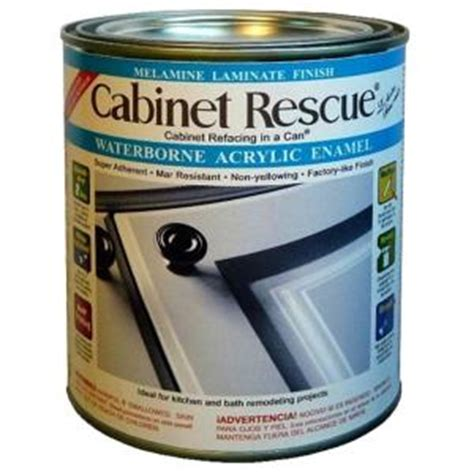 home depot cabinet paint cabinet rescue 31 oz melamine laminate finish paint dt43