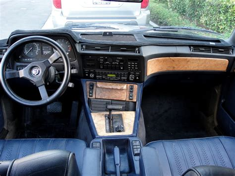 Bmw 745i Interior by 1985 Bmw 745i Turbo Interior German Cars For Sale