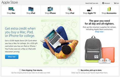 Apple 100 Gift Card Back To School - apple s back to school promotion goes live with 100 gift cards for mac purchases