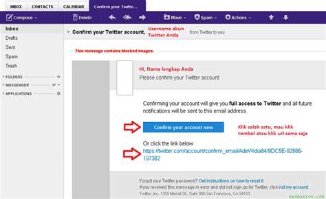 cara membuat email baru untuk instagram cara membuat twitter baru dengan mudah omah tips