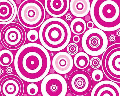 pink retro pattern retro circles desktop wallpaper
