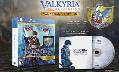 Ps4 Valkyria Revolution Vanargand Edition R1 valkyria revolution slated for the west in june with limited edition otaku streamers