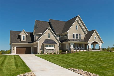 Handcrafted Homes - custom home exteriors custom home builders new home