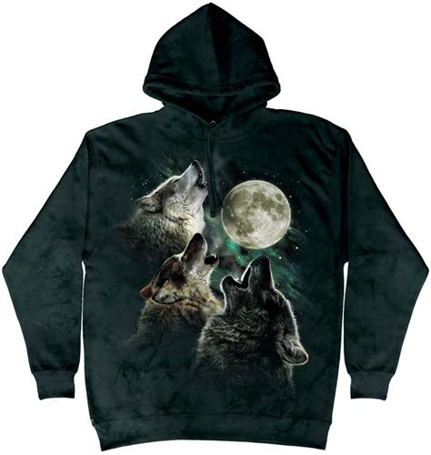 Hoodie Wolf three wolf moon hoodie and shirts made earth friendly