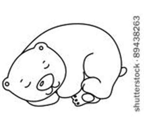 cute sleeping bear clipart clipart suggest