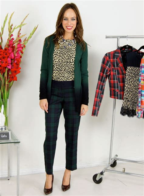 Winter Fashion Trends How To Wear Plaid by A Z Trend Guide Plaid Sydne Style