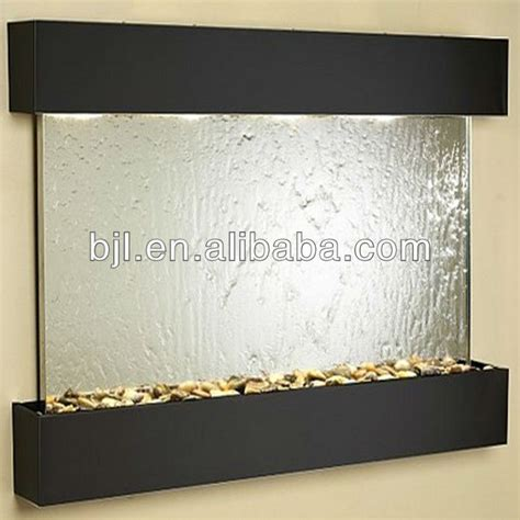 indoor water fountains for home decor contemporary glass wall decorations indoor wall water