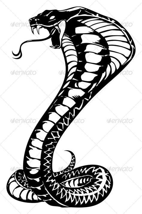 cobra snake tattoo and animal