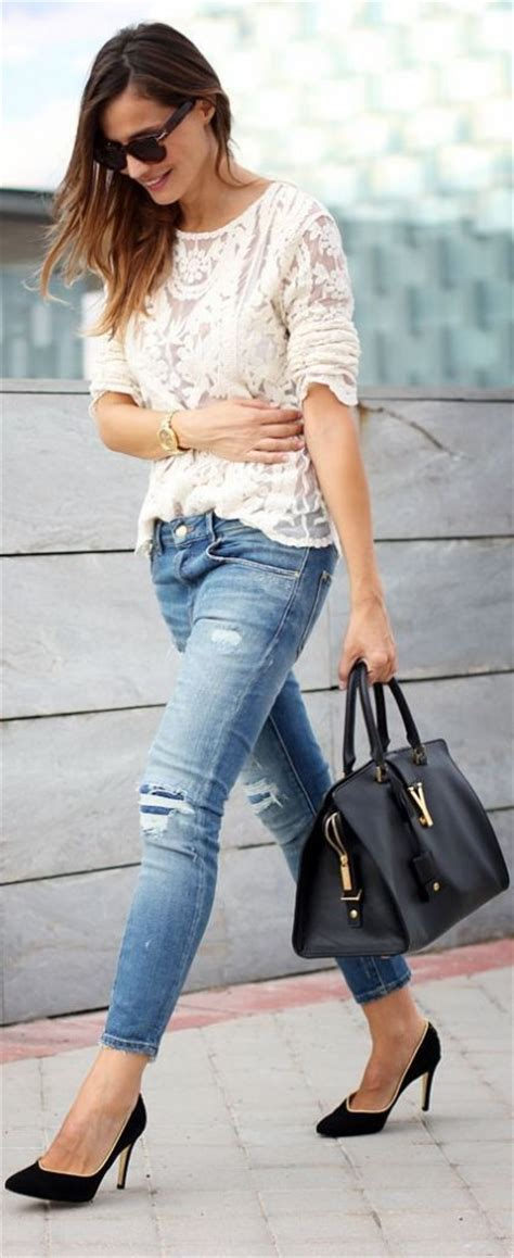 latest fashiont trand for ladies late 40 latest styles and trends of jeans for women over 40 0014