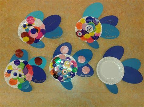 Paper Plates Piring Kertas Pesta Nc0311 mooiste vis de zee gemaakt bordje crafts