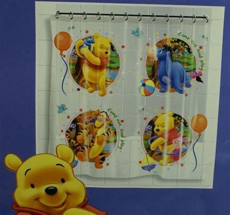 winnie the pooh shower curtain disney winnie the pooh novelty shower curtain childrens