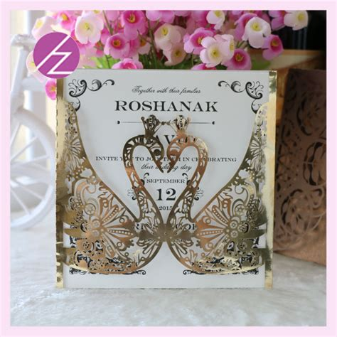Swan Wedding Invitation Cards by Comparar Pre 231 Os De Swan Wedding Invitations Compras On