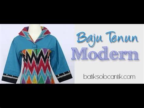 V Tenun model baju tenun modern
