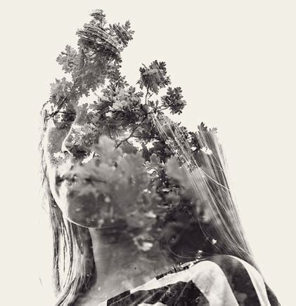 double exposure dslr tutorial multiple exposure portraits created in camera using a dslr