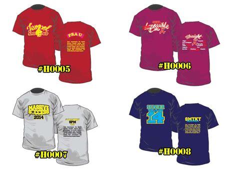 design baju untuk group design tshirt kelas