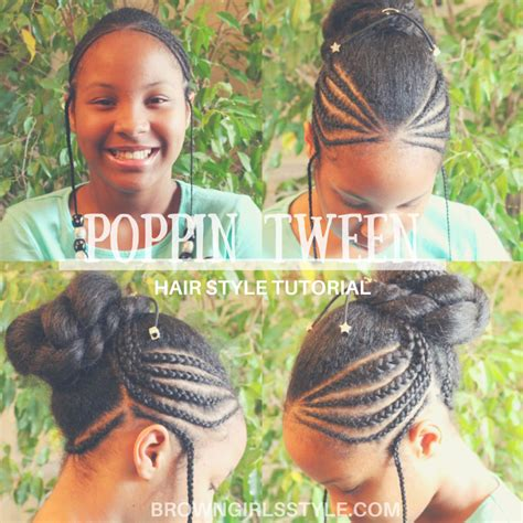 hair styles for black tweens natural tween girls hair style brown girls style