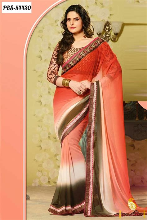 bollywood heroine in sarees bollywood actress celebrity zarine khan sarees online
