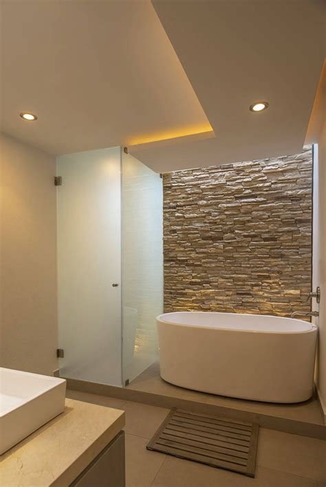 Baldosas Banos Modernos #4: Ideas-ba%C3%B1os-stone-bathroom.jpg