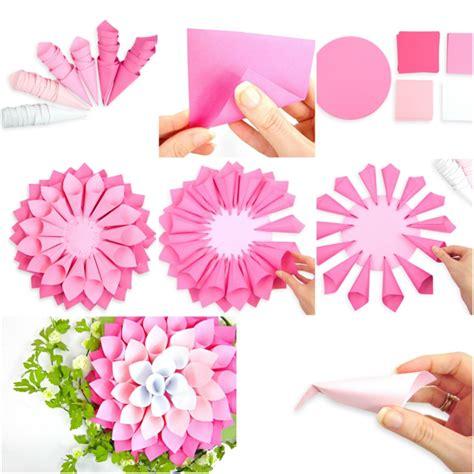 Bricolage Fleur En Papier De Soie by 1001 Tutos Et Id 233 Es Top Comment Faire Une Fleur En