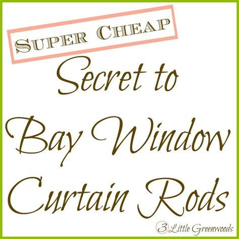 cheap bay window curtain rods 17 best ideas about bay window decor on pinterest bay