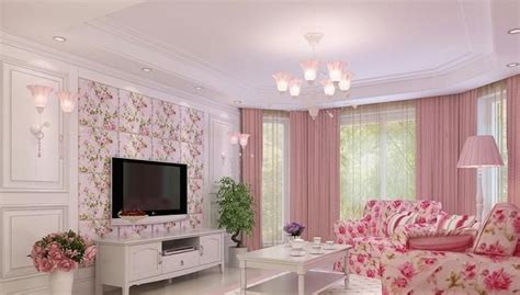 pink living rooms south korea s pink living room interior design rendering