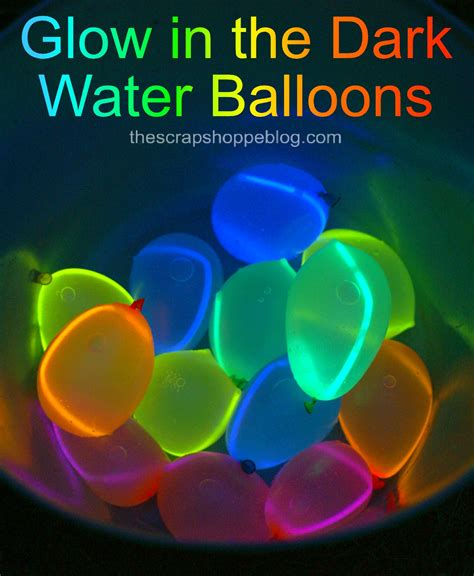 glow in the crafts for balloon hacks