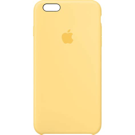 apple iphone 6 plus 6s plus silicone yellow mm6h2zm
