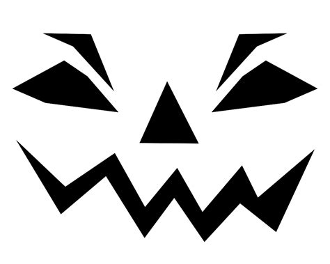 printable picture of jack o lantern 7 best images of printable halloween templates and
