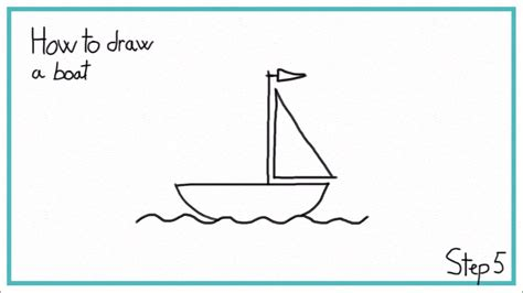 how to draw a boat step by step easy how to draw a boat in 7 steps easy youtube